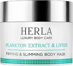 Парфюми, Парфюмерия, козметика Укрепваща и моделираща маска за тяло - Herla Luxury Body Care Plankton Extract & Lipids Body Mask