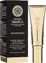 """Парфюми, Парфюмерия, козметика Дневен активен крем за лице """"Инжекция на младостта"""" - Natura Siberica Caviar Gold"""