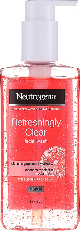 Измиващ гел за лице - Neutrogena Visibly Clear Pink Grapefruit Facial Wash