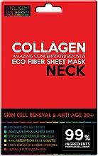 Парфюмерия и Козметика Антистареещ експрес-маска за шия с колаген - Beauty Face IST Skin Cell Reneval & Anti Age Neck Mask Marine Collagen