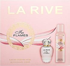 Парфюмерия и Козметика La Rive In Flames - Комплект (edp/90ml + deo/150ml)