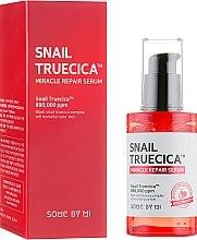 Парфюмерия и Козметика Възстановяващ серум с екстракт от черен охлюв - Some By Mi Snail Truecica Miracle Repair Serum