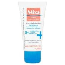 Парфюми, Парфюмерия, козметика Овлажняващ крем за суха кожа на лицето - Mixa Sensitive Skin Expert 24 HR Moisturising Soothing Cream