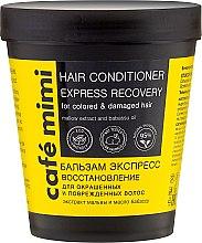 """Парфюмерия и Козметика Балсам за коса """"Експресно възстановяване"""" - Cafe Mimi Conditioner"""