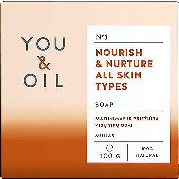 Подхранващ сапун за всеки тип кожа - You & Oil Nourish & Nurture All Skin Types — снимка N1