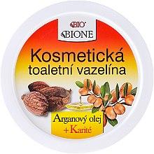 Парфюмерия и Козметика Крем за лице с вазелин и арган - Bione Cosmetics Argan Oil Vaseline Cream
