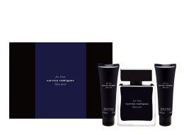 Парфюми, Парфюмерия, козметика Narciso Rodriguez for Him Bleu Noir - Комплект (тоал. вода 100 ml + душ гел 2 x 75 ml)