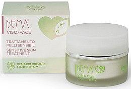Парфюми, Парфюмерия, козметика Крем за чувствителна кожа на лицето - Bema Cosmetici Love Bio Sensitive Skin Treatment