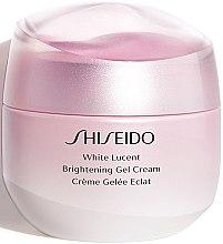 Парфюми, Парфюмерия, козметика Изсветляващ гел-крем за лице - Shiseido White Lucent Brightening Gel Cream