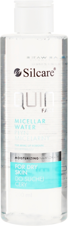 Хидратираща мицеларна вода за лице - Silcare Quin Face Normalizing Micellar Water