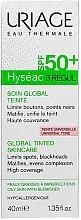 Парфюмерия и Козметика Тониран крем за глобална грижа за мазна кожа - Uriage Hyseac 3-Regul Global Tinted Skincare SPF50
