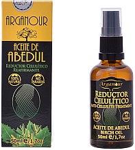 Парфюми, Парфюмерия, козметика Антицелулитно брезово масло - Arganour Anti Cellulite Treatment Birch Oil