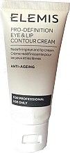 Парфюмерия и Козметика Крем за околоочния контур и устни - Elemis Pro-Definition Eye And Lip Contour Cream For Professional Use Only