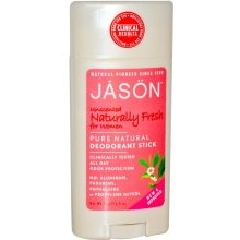 Парфюми, Парфюмерия, козметика Натурален дезодорант стик, без аромат - Jason Natural Cosmetics Pure Natural Deodorant Stick Unscented