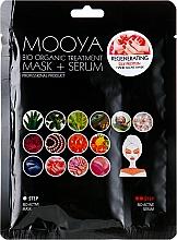 """Парфюмерия и Козметика Маска + серум """"Копринен протеин за ръце"""" - Beauty Face Mooya Bio Organic Treatment Mask + Serum"""