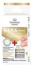 Парфюмерия и Козметика Заздравител за нокти с кератин - Constance Carroll Nail Care Kera-Bond After Hybrid