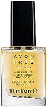 """Парфюми, Парфюмерия, козметика Укрепващ лак за нокти """"24 карата злато"""" - Avon True Colour Nail Experts Gold Strength Base Coat"""