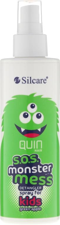 Спрей за лесно разресване на косата - Silcare Quin S.O.S. Monster Mess Kids Hair Spray