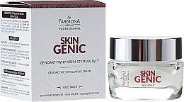 Парфюми, Парфюмерия, козметика Геноактивен нощен стимулиращ крем за лице - Farmona Professional Skin Genic
