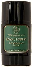 Парфюмерия и Козметика Taylor of Old Bond Street Royal Forest - Стик дезодорант
