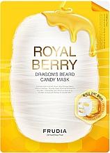 Парфюмерия и Козметика Дълбоко хидратираща маска за лице с мед - Frudia Royal Berry Dragon's Beard Candy Mask