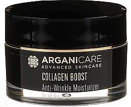 Парфюмерия и Козметика Овлажняващ крем против бръчки - Arganicare Collagen Boost Advanced Anti-Wrinkle Moisturizer