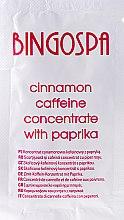 Парфюми, Парфюмерия, козметика Силен канелен концентрат с кофеин и паприка - BingoSpa Concentrate Cinnamon-Caffeine With Peppers (мостра)