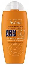 Парфюмерия и Козметика Слънцезащитен флуид - Avene Solaire Fluide Sport SPF 50+