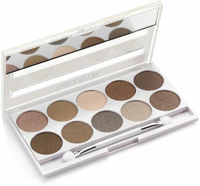 Палитра сенки за очи - Beauty UK Posh Eye Shadow Palette — снимка N2