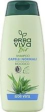 Парфюмерия и Козметика Шампоан за всеки тип коса с алое вера - Erbaviva Bio Hair Shampoo