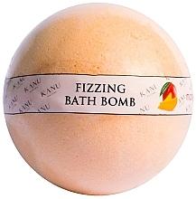 """Парфюмерия и Козметика Бомбичка за вана """"Манго"""" - Kanu Nature Bath Bomb Mango"""