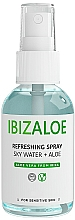 Парфюмерия и Козметика Освежаващ спрей за тяло и лице с алое вера - Ibizaloe Sky Water Aloe Vera