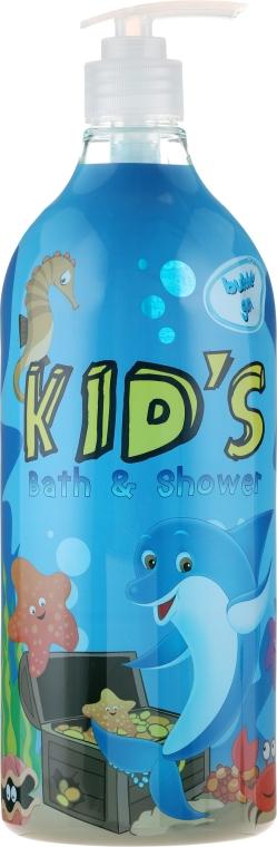 Гел-пяна за душ и вана - Hegron Kid's Bubble Gum Bath & Shower