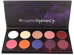 Парфюмерия и Козметика Палитра сенки за очи - Ingrid Cosmetics Colors Matt & Glam Palette