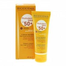 Парфюми, Парфюмерия, козметика Тониращ слънцезащитен крем - Bioderma Photoderm Max SPF50+ Tinted Cream Golden Color