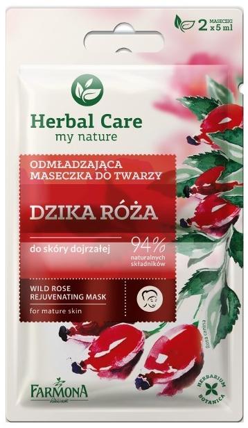"Подмладяваща маска ""Дива роза"" - Farmona Herbal Care"