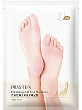 Парфюмерия и Козметика Ексфолираща маска за стъпала - Pilaten Exfoliating Soft Foot