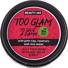 Парфюмерия и Козметика Маска-желе за лице с лифтинг ефект - Beauty Jar Too Glam To Give A Damn Face Mask