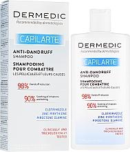 Парфюмерия и Козметика Шампоан против пърхот - Dermedic Capilarte Shampoo