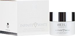 Парфюмерия и Козметика Нощен крем за лице - Herla Infinite White Total Spectrum Moisturizing Night Therapy Whitening Cream