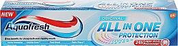 Парфюмерия и Козметика Паста за зъби - Aquafresh All In One Protection Original