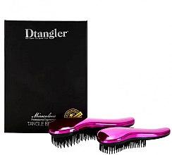 Парфюмерия и Козметика Комплект четки за коса - KayPro Dtangler Miraculous Pink (2xbrush)