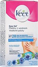 Парфюмерия и Козметика Восъчни ленти за тяло с ароматна метличина - Veet Easy-Gel