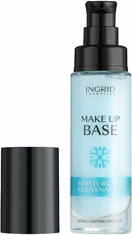 Хидратираща основа за грим - Ingrid Cosmetics Make-up Base Long-Lasting Moisturizing & Rejuvenating