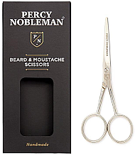 Парфюмерия и Козметика Ножица за брада и мустаци - Percy Nobleman Beard & Moustache Scissors