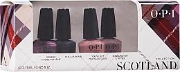 Парфюмерия и Козметика Комплект лакове за нокти - OPI Scotland Nail Lacquer Set