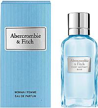 Парфюмерия и Козметика Abercrombie & Fitch First Instinct Blue Women - Парфюмна вода