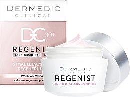 Парфюми, Парфюмерия, козметика Нощен крем против мимически бръчки 30+ - Dermedic Regenist ARS 3 Night Stimulating And Regenerating Cream