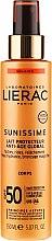 Парфюмерия и Козметика Слънцезащитно мляко за тяло SPF50 - Lierac Sunissime