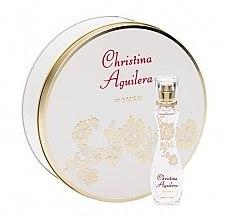 Парфюми, Парфюмерия, козметика Christina Aguilera Woman - Комплект (тоал. вода/35ml + кутия)